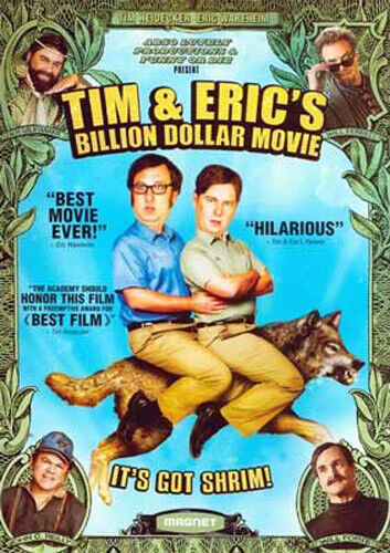 Tim and Eric's Billion Dollar Movie DVD NEW