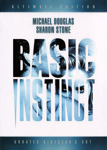 Basic Instinct (Ultimate Edition, Directors Cut, Unrated) DVD NEW