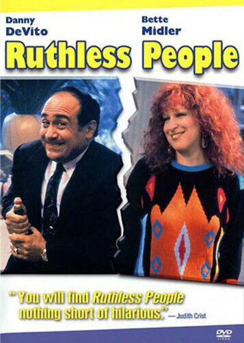 Ruthless People DVD NEW