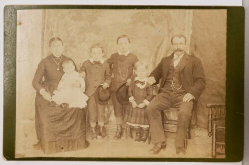 ANTIQUE VICTORIAN ELMHURST IL HECHT FINE PHOTO OLDENBURG GENEALOGY DUPAGE COUNTY