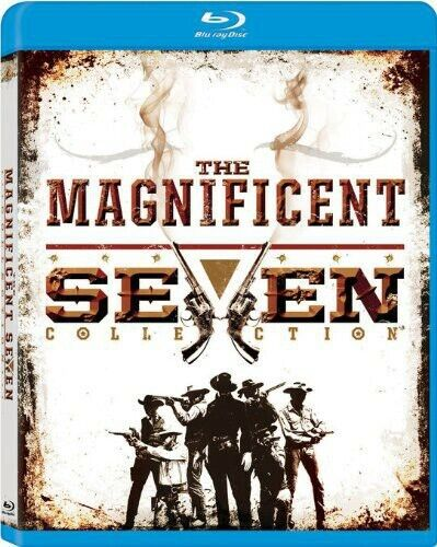 The Magnificent Seven Collection (4 Disc) BLU-RAY NEW