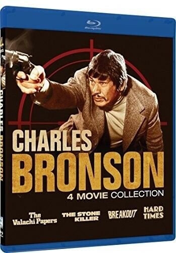 The Valachi Papers / The Stone Killer / Breakout (1975) / Hard Times BLU-RAY NEW