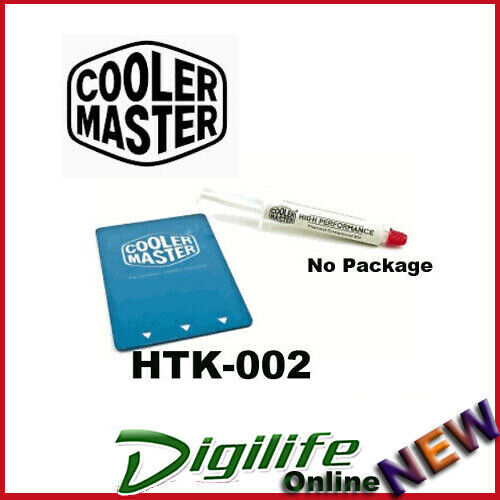 Cooler Master HTK-002 Thermal Compound High Performance Paste No package