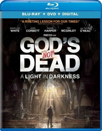 God's Not Dead 3: A Light in Darkness (2 Disc, Blu-ray + DVD) BLU-RAY NEW