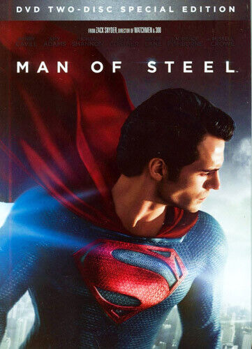 Man of Steel (2 Disc, Special Edition) DVD NEW