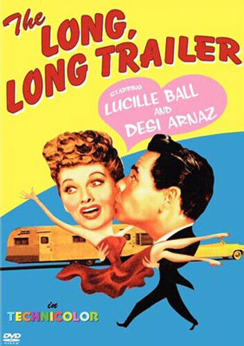 The Long, Long Trailer DVD NEW
