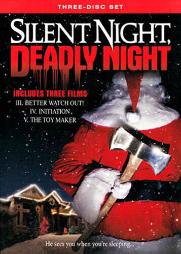 Silent Night, Deadly Night Parts 3 / 4 / 5 (3 Disc) DVD NEW