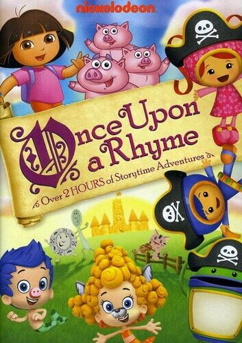 Nickelodeon: Once Upon a Rhyme DVD NEW