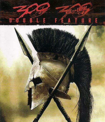 300 (2006) / 300: Rise of an Empire (2 Disc) BLU-RAY NEW