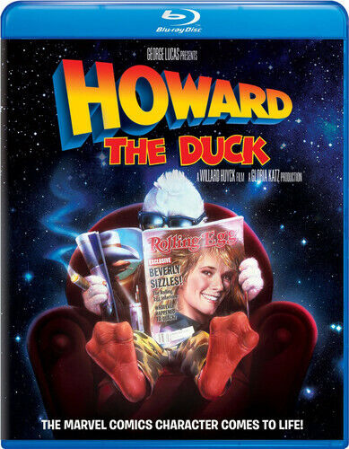Howard the Duck BLU-RAY NEW