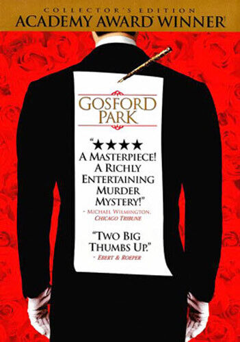 Gosford Park (Collectors Edition) DVD NEW