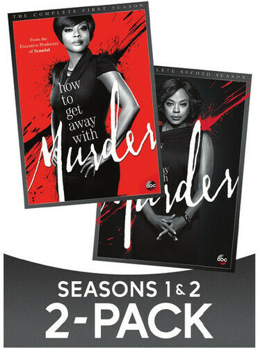How to Get Away with Murder: Complete First and Second Seasons (S 1 / 2) DVD NEW
