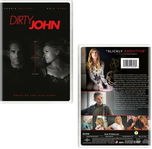 DIRTY JOHN 1 (2018-2019): Connie Britton, Eric Bana TV Season Series NEW Rg1 DVD