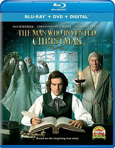 The Man Who Invented Christmas (2 Disc, Blu-ray + DVD) BLU-RAY NEW