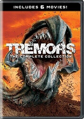 Tremors 1 / 2 / 3 / 4 / 5 / 6: The Complete Collection (4 Disc) DVD NEW