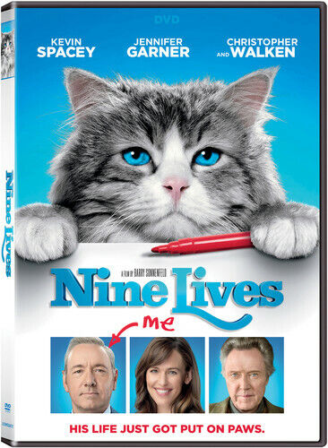 Nine Lives (2016 Kevin Spacey) DVD NEW