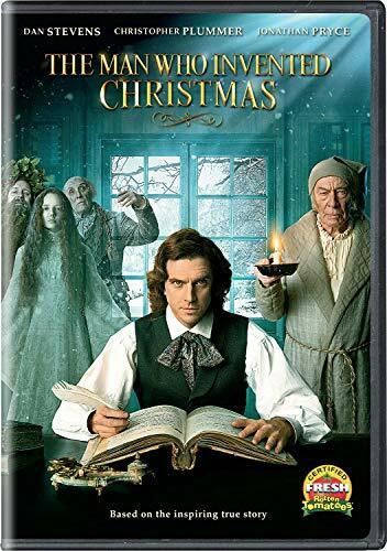 The Man Who Invented Christmas DVD NEW