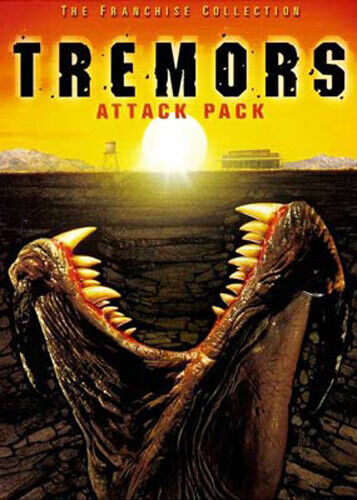 Tremors Attack Pack: 1 / 2 / 3 / 4 (2 Disc) DVD NEW