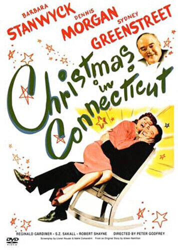 Christmas in Connecticut (1945 Barbara Stanwyck) (Indiscretion) DVD NEW
