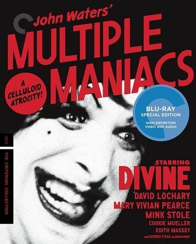 Multiple Maniacs (The Criterion Collection, Mastered in 4K) BLU-RAY NEW