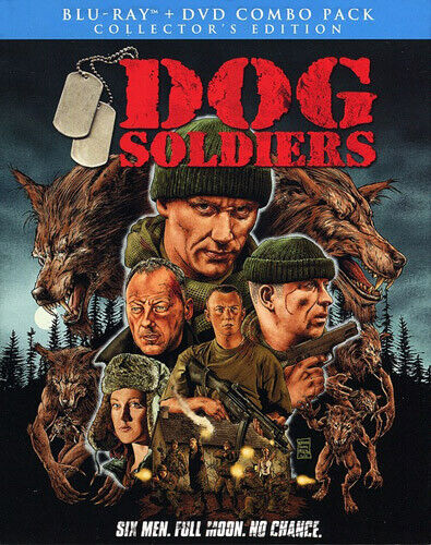 Dog Soldiers (2 Disc, Blu-ray + DVD, Collectors Edition) BLU-RAY NEW