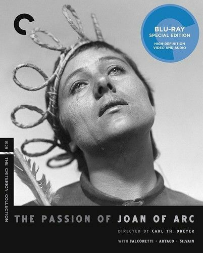 The Passion of Joan of Arc (1928) (The Criterion Collection) BLU-RAY NEW