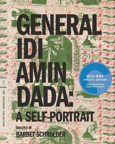 General Idi Amin Dada: A Self Portrait (The Criterion Collection) BLU-RAY NEW