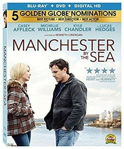 Manchester by the Sea (2 Disc, Blu-ray + DVD) BLU-RAY NEW