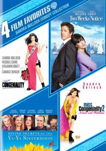 Miss Congeniality 1 / 2 / Two Weeks Notice / Divine Secrets of the Ya-Ya DVD NEW
