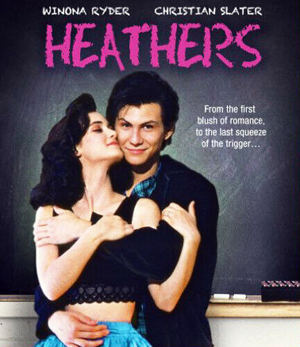 Heathers BLU-RAY NEW