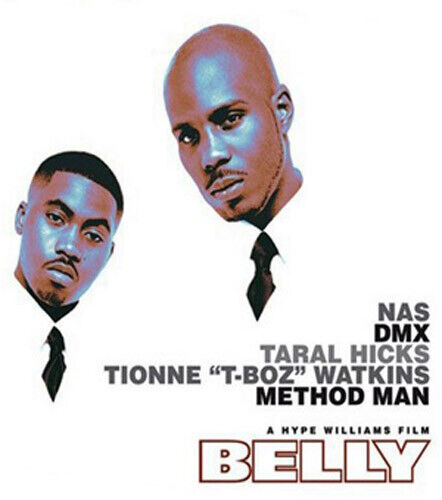 Belly (1998 Nas DMX) BLU-RAY NEW