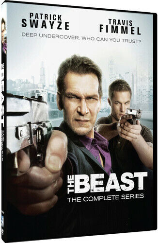 The Beast (2009): The Complete Series (Patrick Swayze) (2 Disc) DVD NEW
