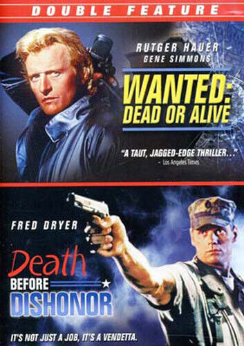 Wanted: Dead or Alive (1987) / Death Before Dishonor DVD NEW