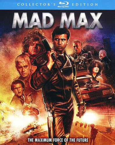 Mad Max (1979 Mel Gibson) (Collectors Edition) BLU-RAY NEW