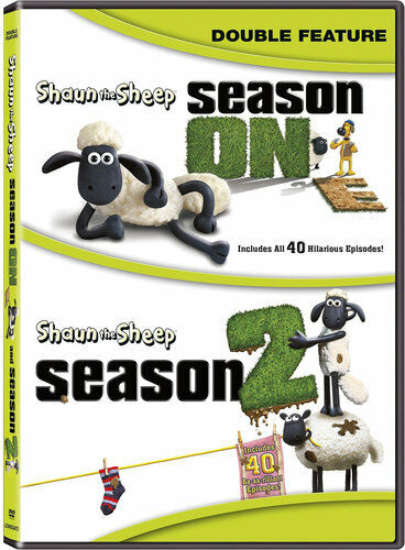 Shaun the Sheep: Seasons 1 / 2 (First and Second Seasons) (4 Disc) DVD NEW