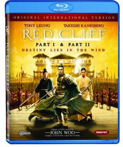 Red Cliff: Parts 1 / 2 (2 Disc, International Version) BLU-RAY NEW