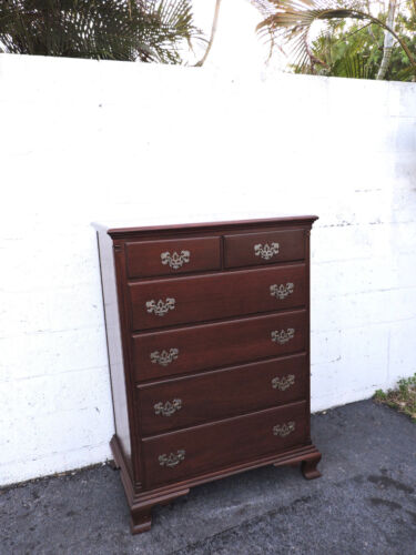 Solid Mahogany Chest of Drawers by James McCreery and Co. New York  8095