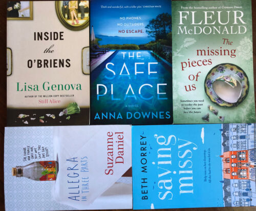 Fleur McDonald Missing Pieces of Us THE PARTY Liane MORIARTY Truly madly Guilty
