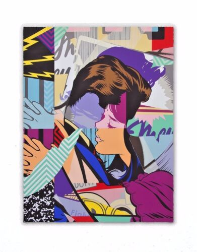 POSE Couples Therapy 2 18-Color Screen Print x/100 AWR Modern Pop Art nt Faile