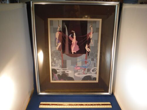 Vintage Framed Seductress Of Bondage Print Wall Picture