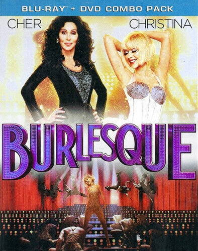 Burlesque (2010 Cher Christina Aguilera) (2 Disc, Blu-ray + DVD) BLU-RAY NEW