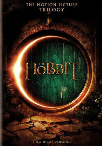 The Hobbit Parts 1 / 2 / 3: The Motion Picture Trilogy (6 Disc) DVD NEW
