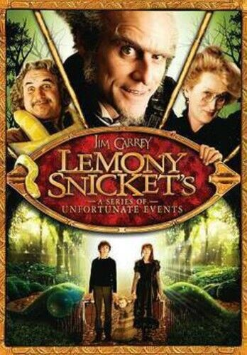 Lemony Snicket's A Series of Unfortunate Events DVD NEW