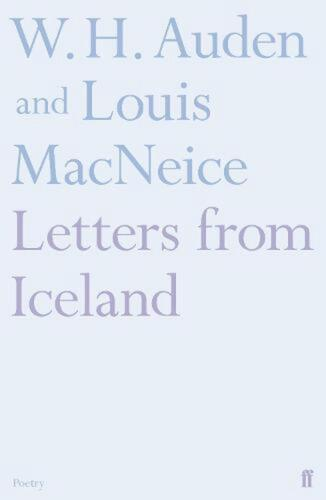 Letters from Iceland by WH Auden Paperback Book Free Shipping!