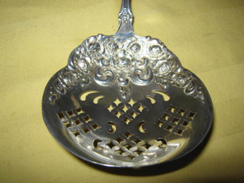"""Salem B.M. CHAMBERLAIN & SON Towle """"Old English"""" 1890s LARGE CONFECTION SPOON"""
