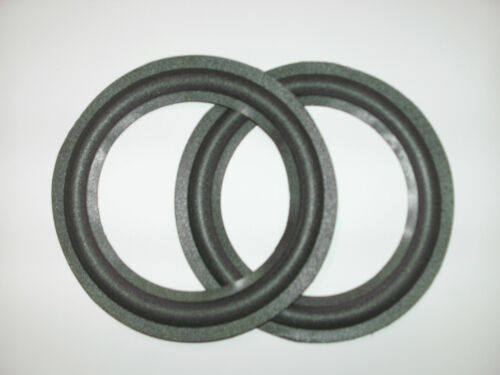 """One pair of  6""""  foam surrounds for Sonab spkrs. eg SW 7  etc..See list."""