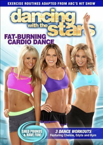 Dancing with the Stars: Fat Burning Cardio Dance DVD NEW