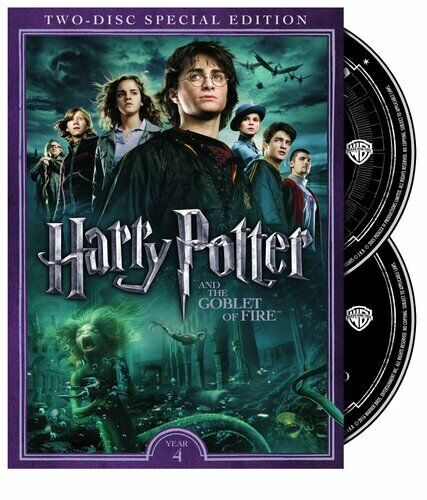 Harry Potter and the Goblet of Fire (2 Disc, Special Edition) DVD NEW