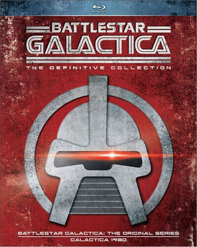 Battlestar Galactica (1978): The Definitive Collection (18 Disc) BLU-RAY NEW