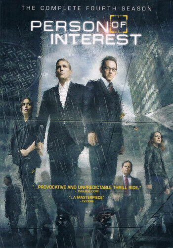 Person of Interest: The Complete Fourth Season (Season 4) (6 Disc) DVD NEW